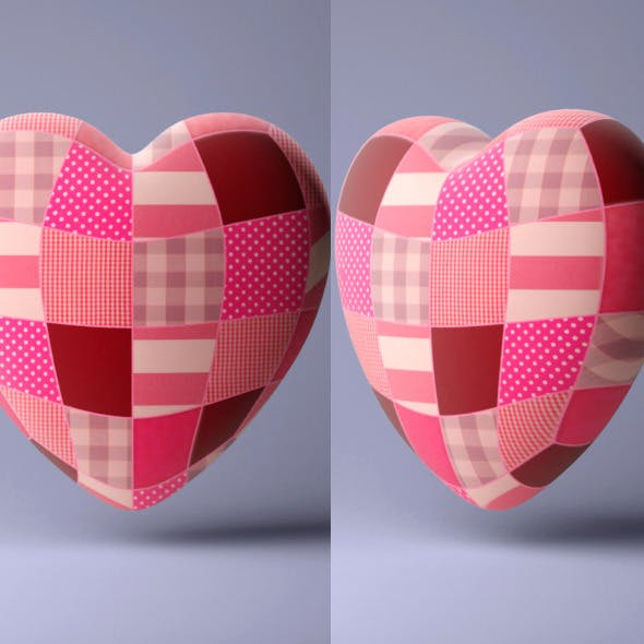 Heart Pillow - 3DOcean Item for Sale
