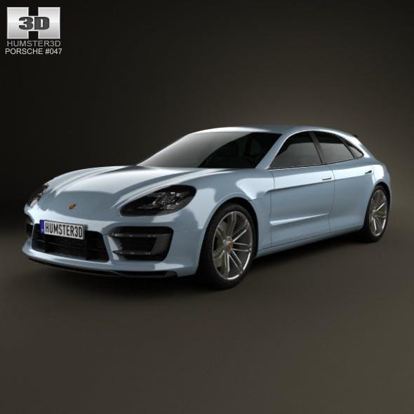 Porsche Panamera Sport Turismo 2012