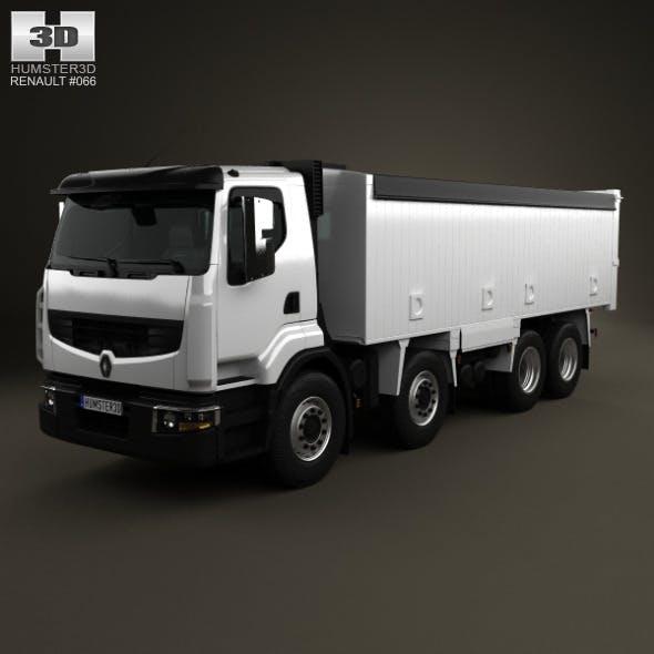 Renault Premium Lander Tipper Truck 2012 - 3DOcean Item for Sale