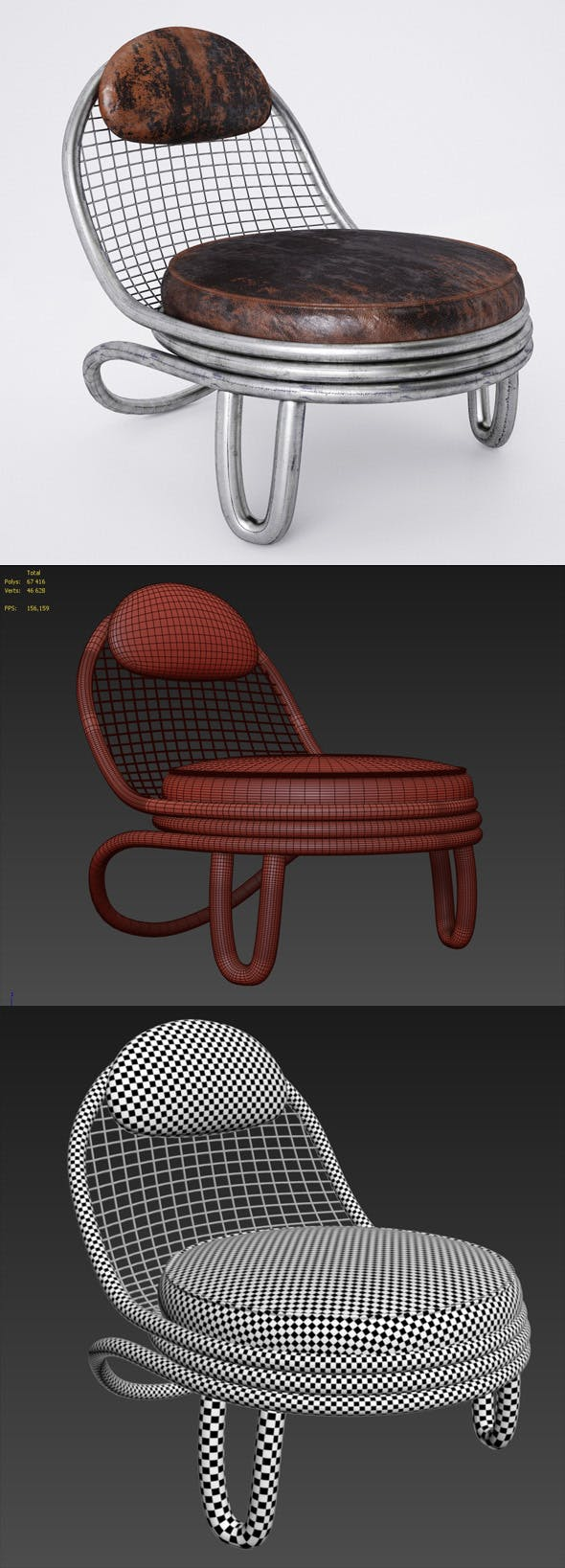 Chair Jefferson - 3DOcean Item for Sale