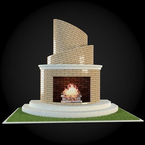 Garden Fireplace 009