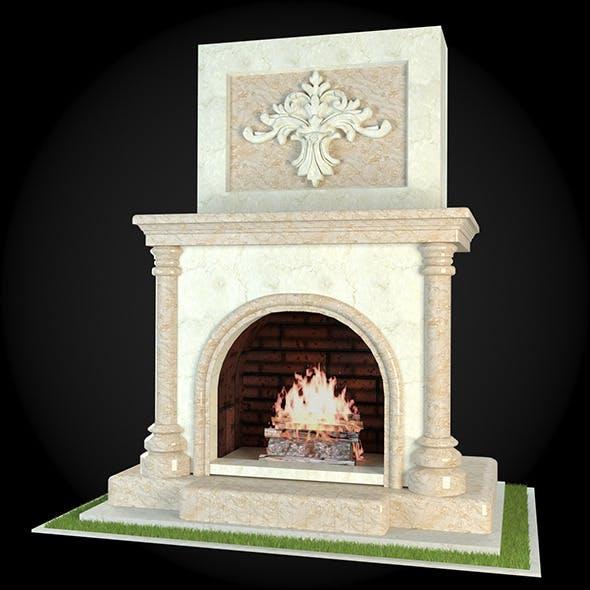 Garden Fireplace 011