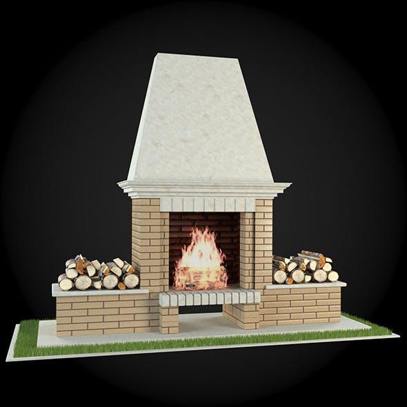 Garden Fireplace 013