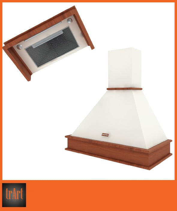 Realistic kitchen hood - 3DOcean Item for Sale