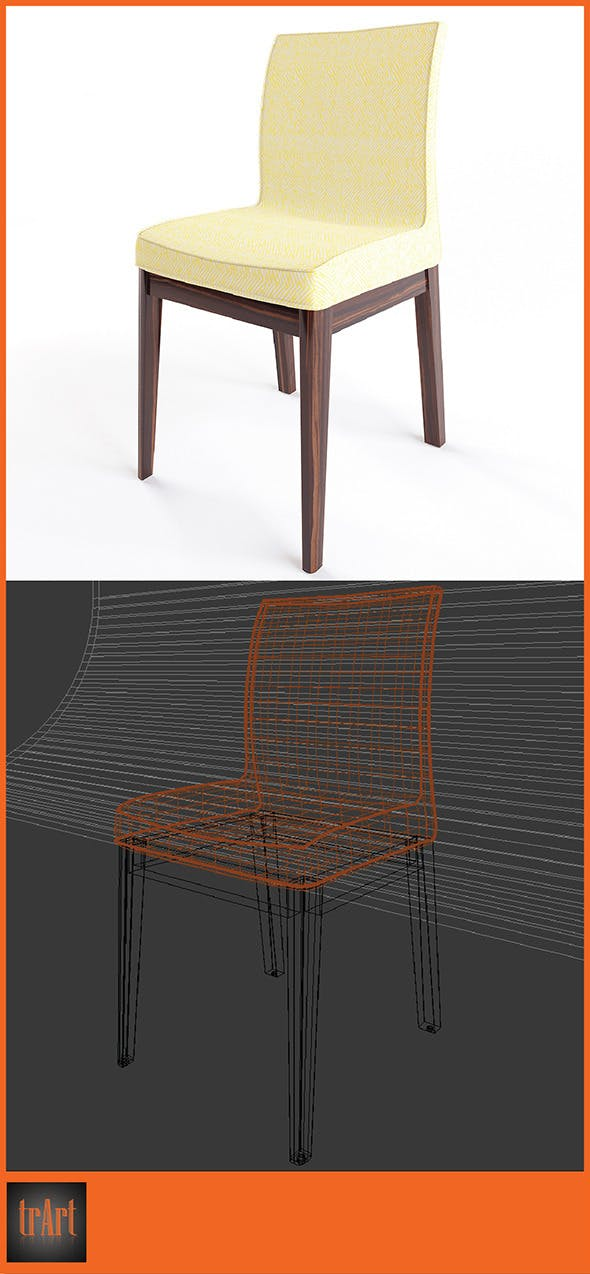 Realistic Armchair  - 3DOcean Item for Sale