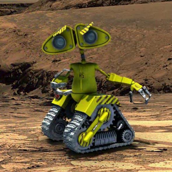 Full Rigged E-Robot - 3DOcean Item for Sale