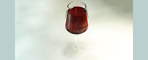 WineGlass - 3DOcean Item for Sale