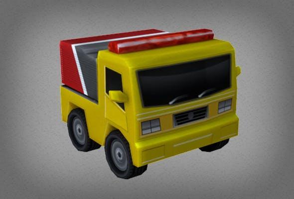 Little Van - 3DOcean Item for Sale