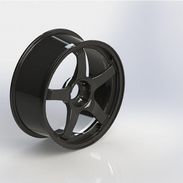 Steel Rim - 3DOcean Item for Sale