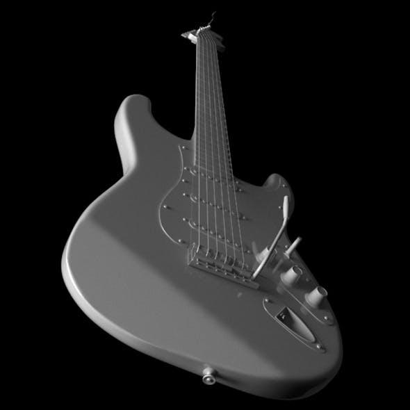 Stratocaster Fender - 3DOcean Item for Sale