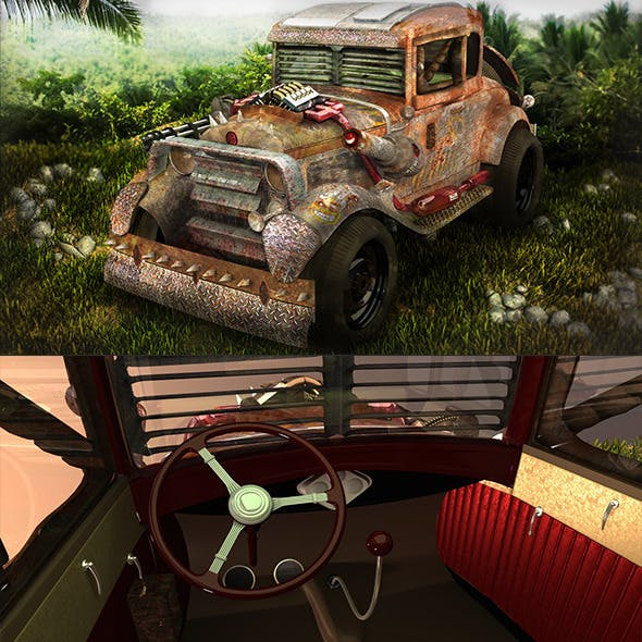 Jungle Death Racer Vehicle