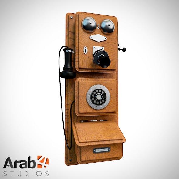 Americana Wall Phone 1882 - 3DOcean Item for Sale