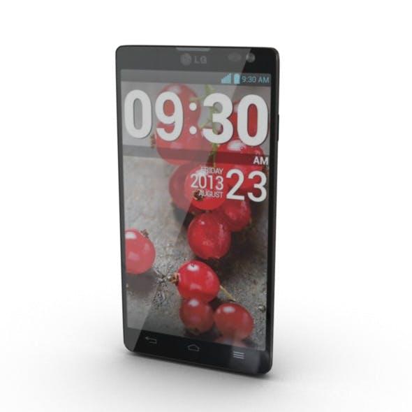 LG L9 II Mobile Phone 3D Model