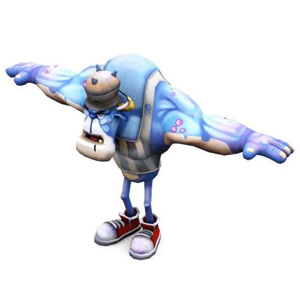 Ogre Blue - 3DOcean Item for Sale