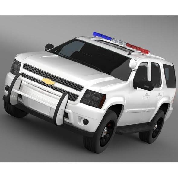 Chevrolet Tahoe Police - 3DOcean Item for Sale