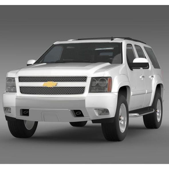 Chevrolet Tahoe Z71 - 3DOcean Item for Sale