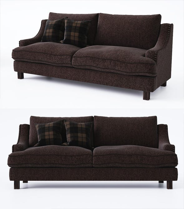 Sofa with pillows - 3DOcean Item for Sale