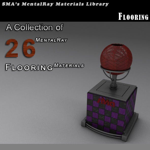 26 Flooring Materials (Mental Ray)