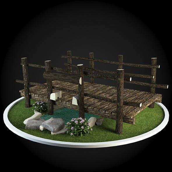Bridge 017 - 3DOcean Item for Sale