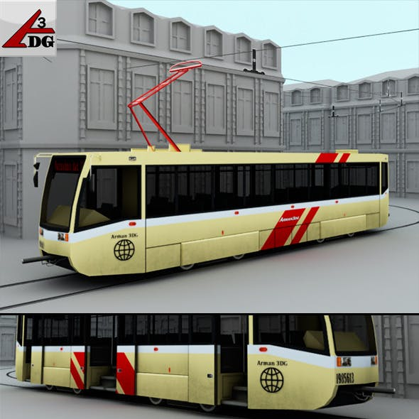 Streetcar - 3DOcean Item for Sale
