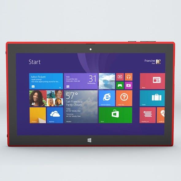 Nokia Lumia 2025 Windows Tablet - 3DOcean Item for Sale