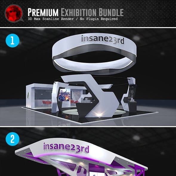 Bundle: Premium Exhibition Design Booths