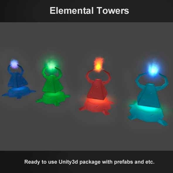 Tower Defense - Elemental Towers