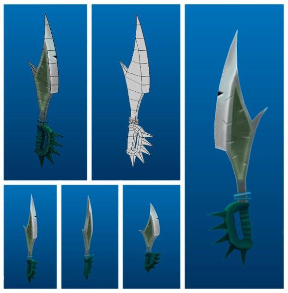 Stylish Sword 02 - 3DOcean Item for Sale