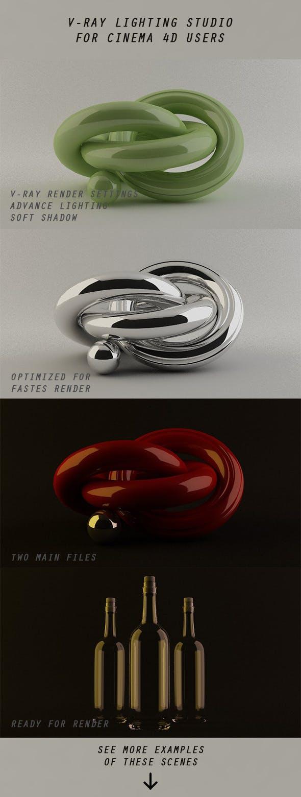 Dark and Light Studio - 3DOcean Item for Sale