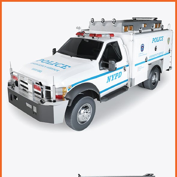 Police Radio Truck