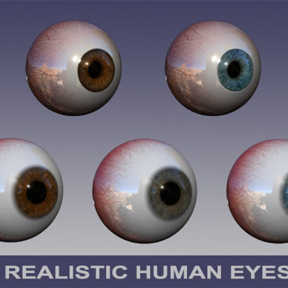 Dynamic Human Eyes Pack
