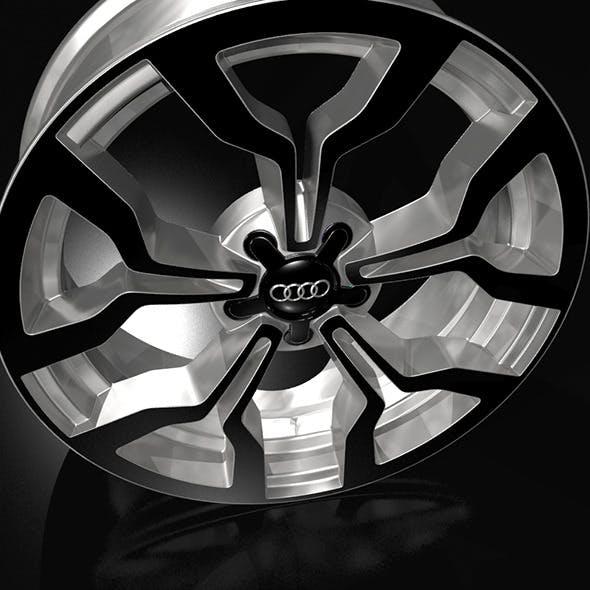 audiR8 wheel rim
