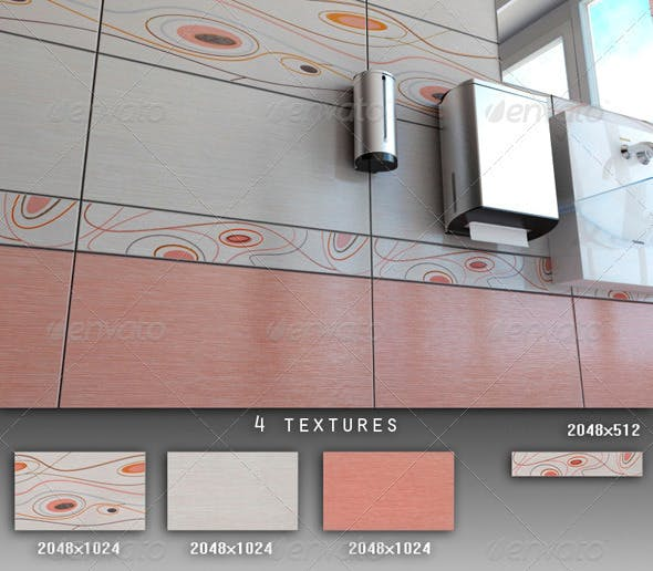 Professional Ceramic Tile Collection C059 - 3DOcean Item for Sale