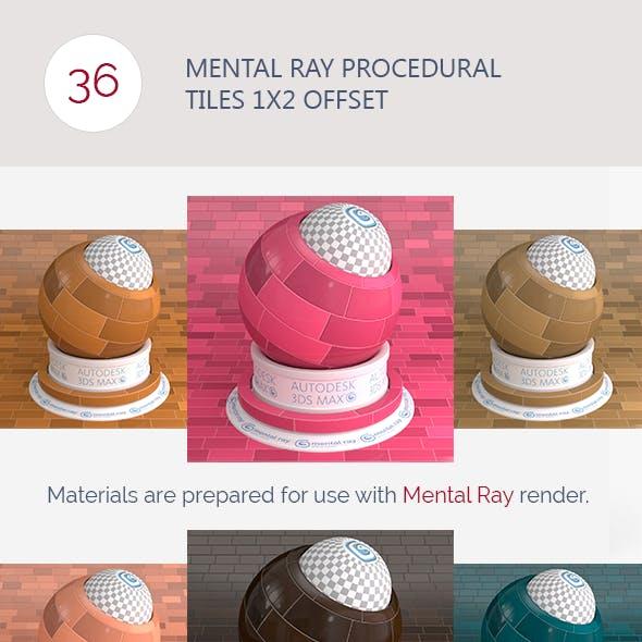 Mental Ray Procedural Tiles 1x2 Offset
