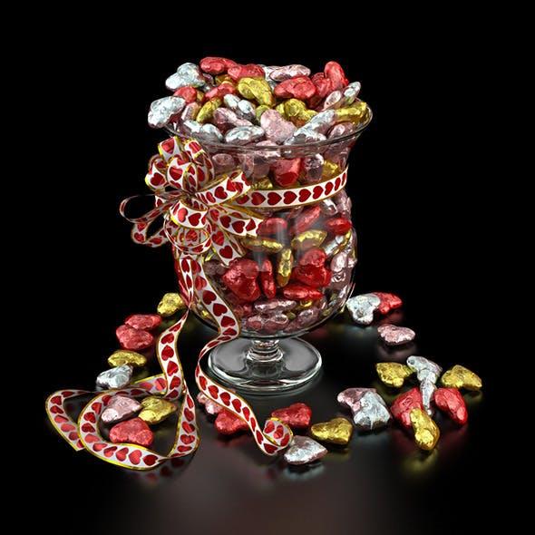 Candy Vase - 3DOcean Item for Sale