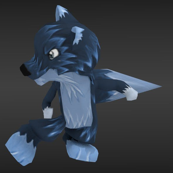 Little Wolf - 3DOcean Item for Sale