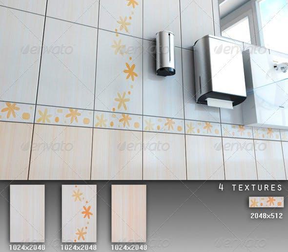 Professional Ceramic Tile Collection C071 - 3DOcean Item for Sale
