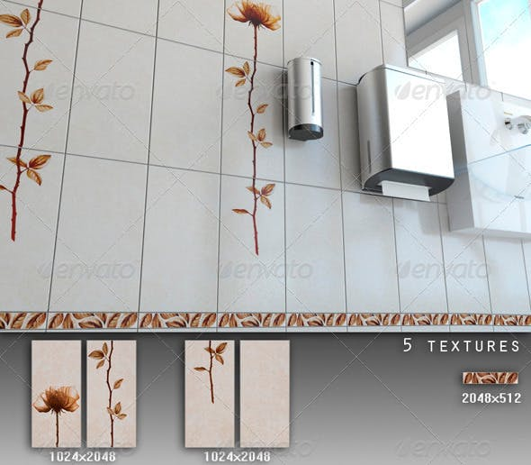Professional Ceramic Tile Collection C072 - 3DOcean Item for Sale