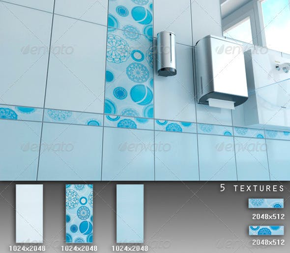 Professional Ceramic Tile Collection C076 - 3DOcean Item for Sale