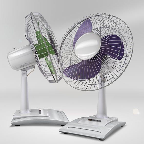 Desk Fan Model