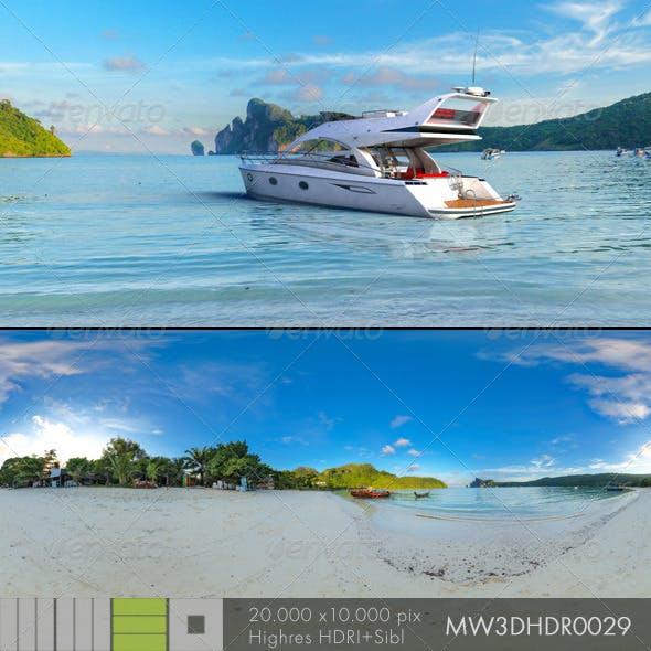 MW3DHDR0029 Phi Phi Island Beach Thailand