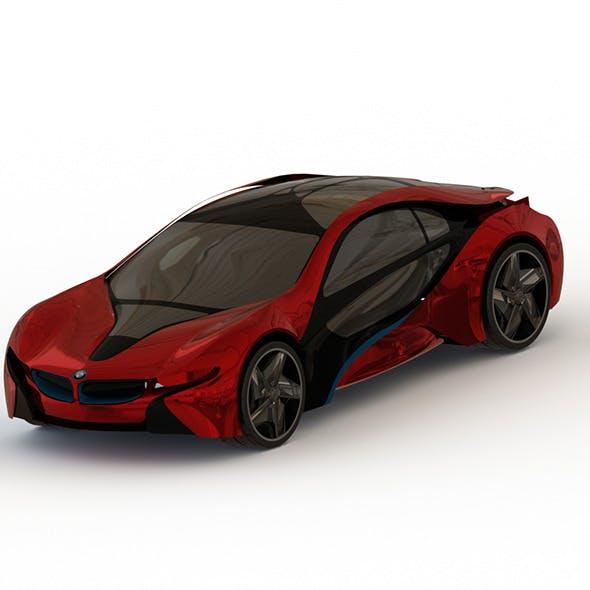 Bmw i8 Vision Concept - 3DOcean Item for Sale