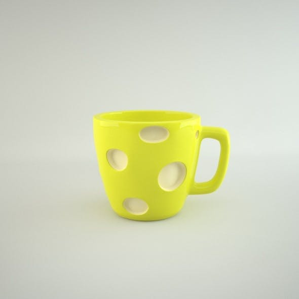Cup cheese - 3DOcean Item for Sale