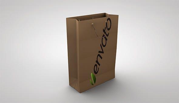 Paper Bag - 3DOcean Item for Sale