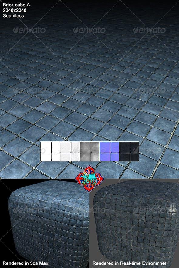 Square brick Texture 01 - 3DOcean Item for Sale