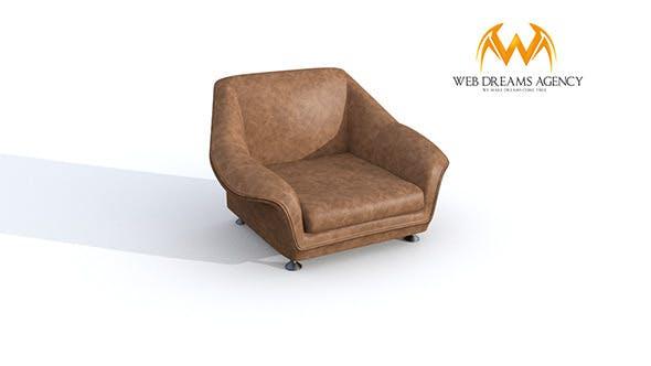 Armchair SLOORP - 3DOcean Item for Sale