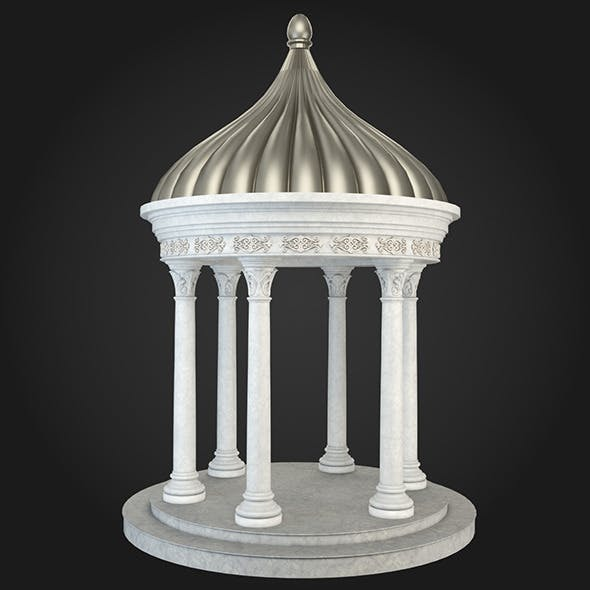 Gazebo 020 - 3DOcean Item for Sale