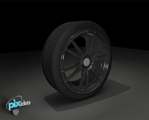 OZ Racing Wheel - 3DOcean Item for Sale