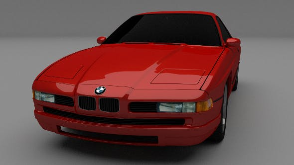 BMW E31 8 Series - 3DOcean Item for Sale