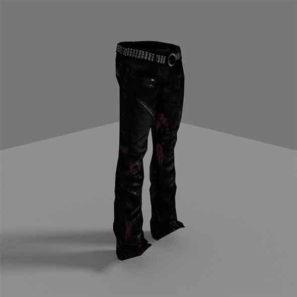 Zombie Pants - 3DOcean Item for Sale